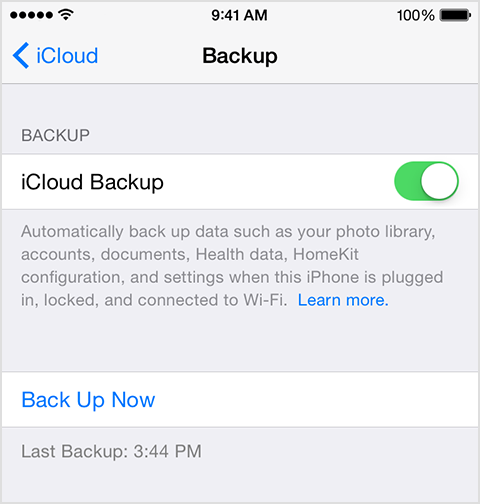 Backup your iPhone Photos Automatically