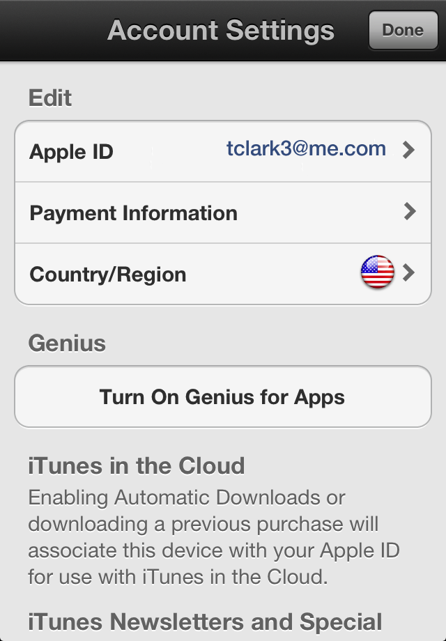 change apple id on app store on iphone