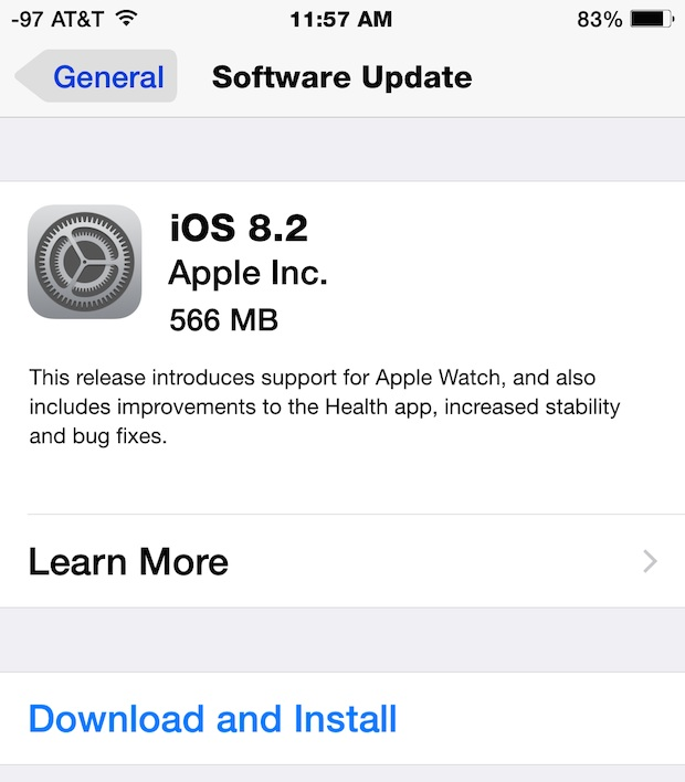 Download iOS 8.2
